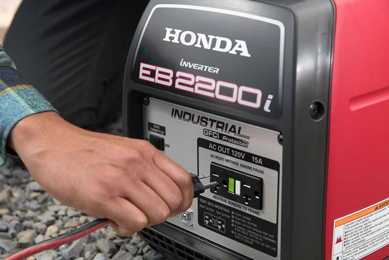 2019 Honda Power Equipment EB2200i in Bigfork, Minnesota