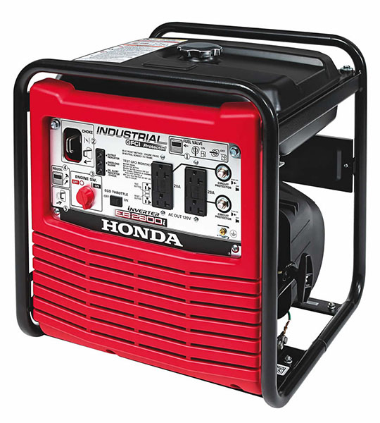 Honda Power Equipment EB2800i in Greenwood, Mississippi