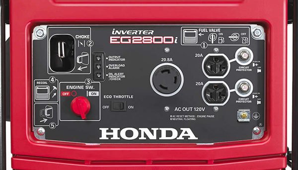 Honda Power Equipment EG2800i in Ukiah, California - Photo 7