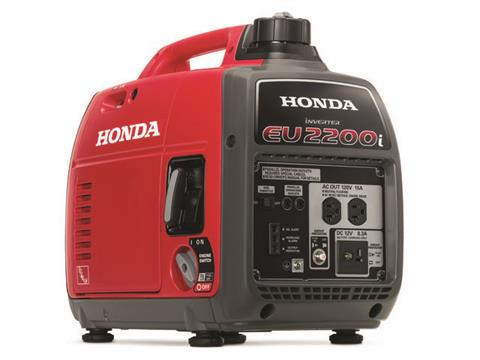 Honda Power Equipment EU2200i in Fremont, California