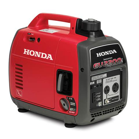 Honda Power Equipment EU2200i Companion in Hollister, California