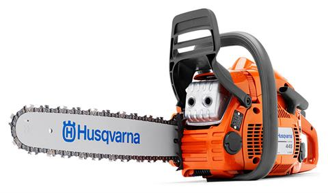Husqvarna Power Equipment 445e II 18 in. Chainsaw in Unity, Maine