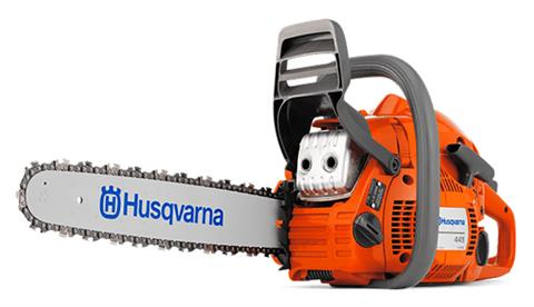 Husqvarna Power Equipment 445 18 in. bar CraftBx in Petersburg, West Virginia