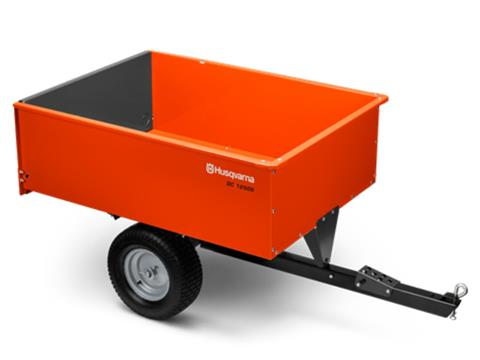 2020 Husqvarna Power Equipment 16 Cu. Ft. Steel Swivel Dump Cart in Petersburg, West Virginia