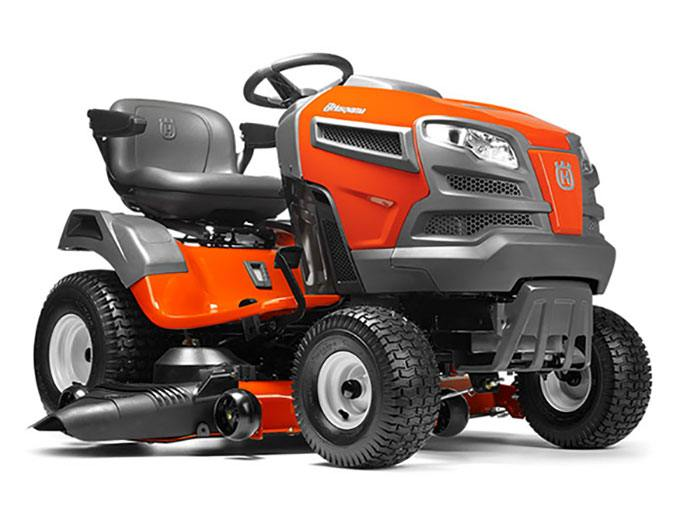 2017 Husqvarna Power Equipment Fast Tractor YTA24V48 Briggs & Stratton (960 43 02-14) in Hancock, Wisconsin