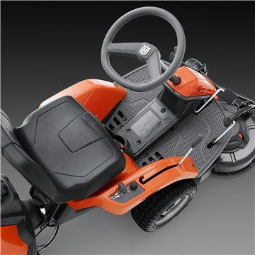 2017 Husqvarna Power Equipment R 322T AWD Briggs & Stratton with side discharge (967 03 21-01) in Hancock, Wisconsin