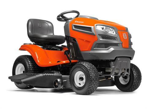 2017 Husqvarna Power Equipment YTA22V46 Briggs & Stratton (960 43 02-12) in Hancock, Wisconsin