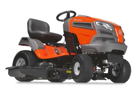 2017 Husqvarna Power Equipment YTH24V54 Briggs & Stratton (960 43 01-88) in Hancock, Wisconsin