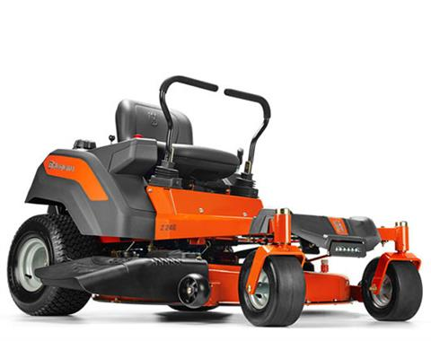 2017 Husqvarna Power Equipment Z246 Briggs & Stratton 20 hp CARB (967 27 16-01) in Francis Creek, Wisconsin