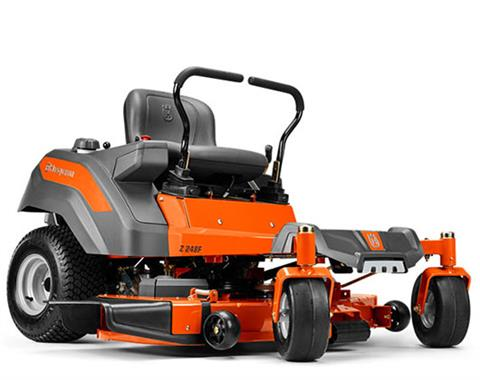 2017 Husqvarna Power Equipment Z248F Briggs & Stratton (967 26 24-01) in Francis Creek, Wisconsin