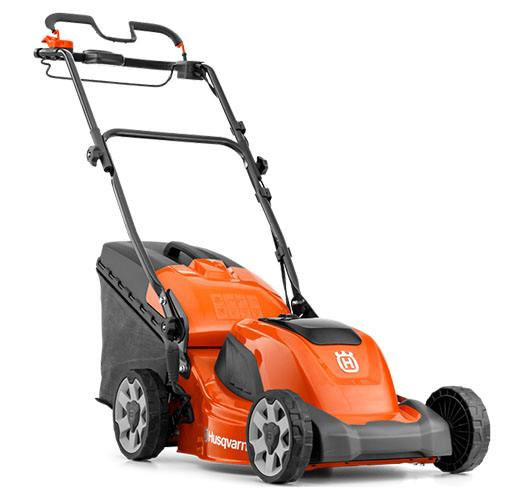 2018 Husqvarna Power Equipment LC 141Li Walk Behind Mower in Berlin, New Hampshire