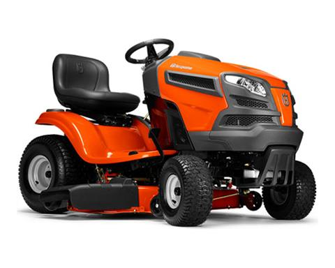 2018 Husqvarna Power Equipment YTH22V46 Briggs & Stratton (960 43 02-57) in Hancock, Wisconsin