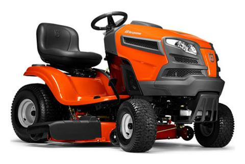 2018 Husqvarna Power Equipment YTH22V46 Lawn Tractor Briggs & Stratton in Berlin, New Hampshire