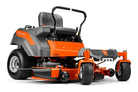 2018 Husqvarna Power Equipment Z254F Zero-Turn Mower Briggs & Stratton in Lancaster, Texas