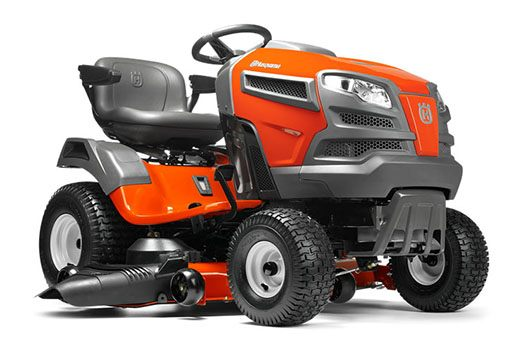 2018 Husqvarna Power Equipment Fast Tractor YTA24V48 Briggs & Stratton (960 45 00-52) in Francis Creek, Wisconsin