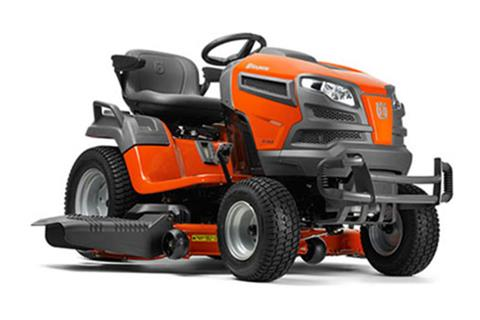 2018 Husqvarna Power Equipment GT54LS Lawn Tractor Briggs & Stratton in Chillicothe, Missouri