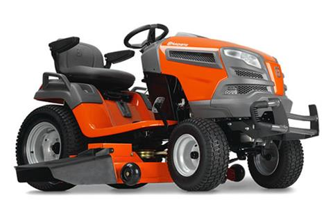 2018 Husqvarna Power Equipment GTH52XLS Lawn Tractor Briggs & Stratton in Chillicothe, Missouri