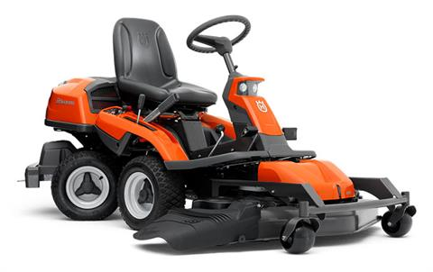 2018 Husqvarna Power Equipment R 322T AWD Briggs & Stratton with 103 Combi deck (967 03 21-02) in Francis Creek, Wisconsin