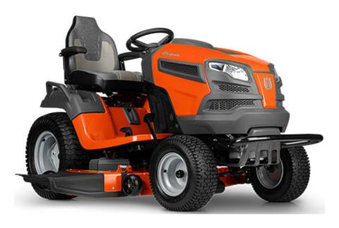2018 Husqvarna Power Equipment TS 348D Lawn Tractor Kawasaki in Berlin, New Hampshire