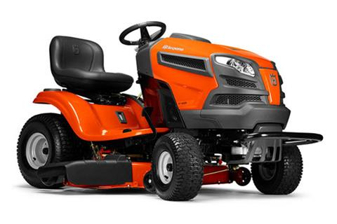 2018 Husqvarna Power Equipment YT42CS Lawn Tractor Briggs & Stratton in Chillicothe, Missouri