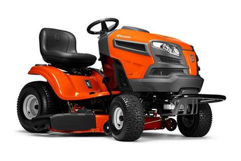 2018 Husqvarna Power Equipment YT42CS Lawn Tractor Briggs & Stratton in Berlin, New Hampshire