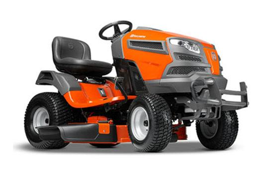 2018 Husqvarna Power Equipment YT42DXLS Lawn Tractor Kawasaki in Berlin, New Hampshire