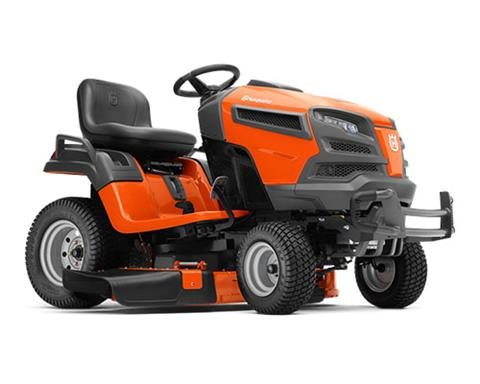 2018 Husqvarna Power Equipment YT42DXLS Lawn Tractor Kohler in Chillicothe, Missouri