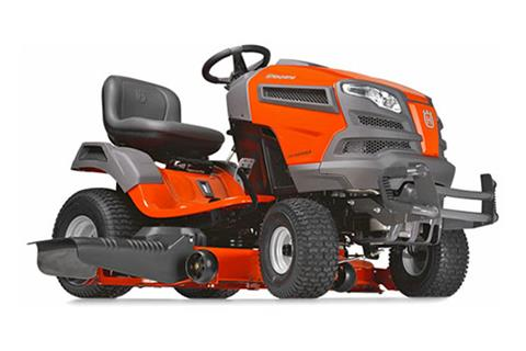 2018 Husqvarna Power Equipment YT46LS Lawn Tractor Kawasaki in Berlin, New Hampshire