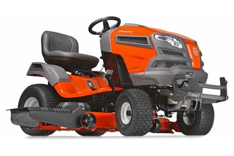 2018 Husqvarna Power Equipment YT46LS Lawn Tractor Kawasaki in Chillicothe, Missouri