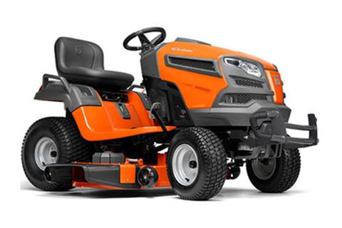2018 Husqvarna Power Equipment YT48DXLS Lawn Tractor Kawasaki Carb in Chillicothe, Missouri