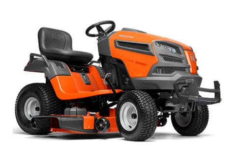 2018 Husqvarna Power Equipment YT48DXLS Lawn Tractor Kohler in Chillicothe, Missouri