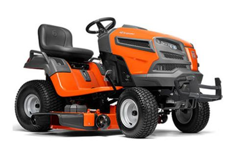2018 Husqvarna Power Equipment YT48DXLS Lawn Tractor Kohler Carb in Saint Johnsbury, Vermont