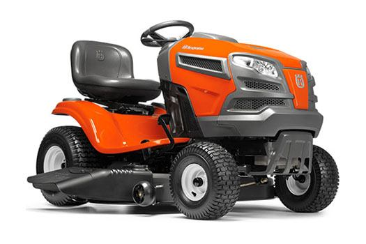 2018 Husqvarna Power Equipment YTA22V46 Lawn Tractor Briggs & Stratton in Chillicothe, Missouri