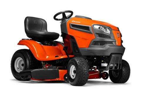 2018 Husqvarna Power Equipment YTH18542 Lawn Tractor Briggs & Stratton in Chillicothe, Missouri