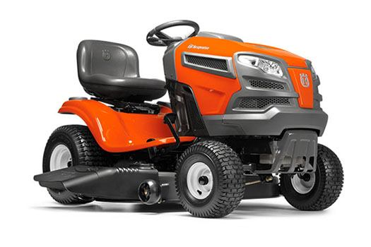 2018 Husqvarna Power Equipment YTH18K46 Lawn Tractor Kawasaki in Berlin, New Hampshire