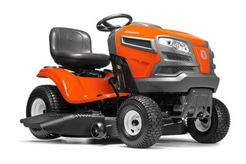 2018 Husqvarna Power Equipment YTH18K46 Lawn Tractor Kawasaki in Chillicothe, Missouri