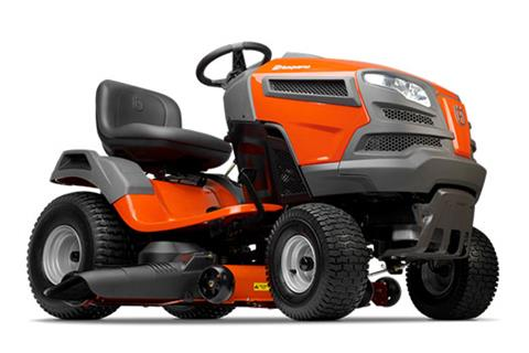 2018 Husqvarna Power Equipment YTH1942 Lawn Tractor Loncin in Berlin, New Hampshire