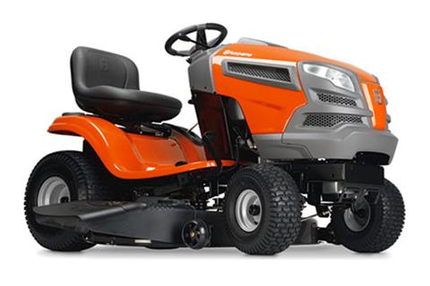 2018 Husqvarna Power Equipment YTH22V42 Briggs & Stratton (960 43 02-16) in Hancock, Wisconsin