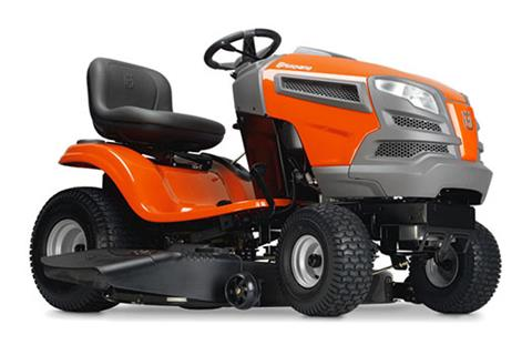 2018 Husqvarna Power Equipment YTH22V42 Lawn Tractor Briggs & Stratton Carb in Chillicothe, Missouri