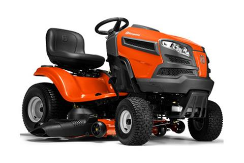 2018 Husqvarna Power Equipment YTH24V54 Lawn Tractor Briggs & Stratton 24 hp in Saint Johnsbury, Vermont