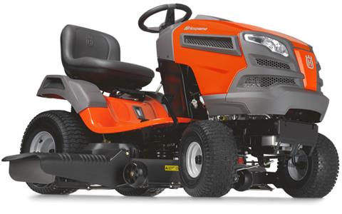 2018 Husqvarna Power Equipment YTH24V54 Briggs & Stratton (960 43 01-88) in Francis Creek, Wisconsin