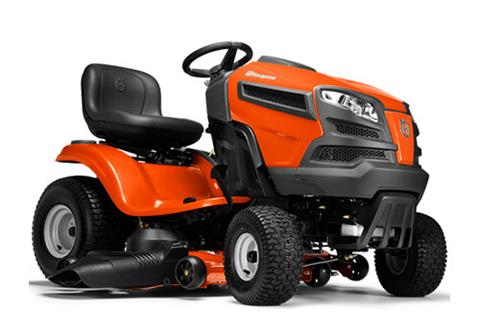 2018 Husqvarna Power Equipment YTH24V48 Briggs & Stratton (960 43 02-58) in Hancock, Wisconsin