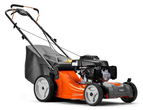 2018 Husqvarna Power Equipment LC 221RH Walk Behind Mower Honda in Lancaster, Texas