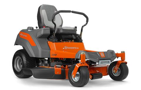2018 Husqvarna Power Equipment Z242F Zero-Turn Mower Kohler in Hancock, Wisconsin