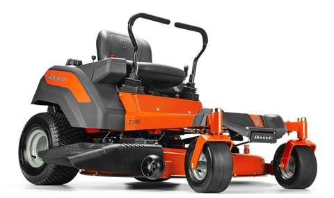 2018 Husqvarna Power Equipment Z246 Briggs & Stratton 20 hp CARB (967 27 16-01) in Gaylord, Michigan