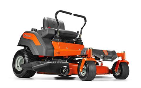 2018 Husqvarna Power Equipment Z246 Zero-Turn Mower Briggs & Stratton Carb 20 hp in Chillicothe, Missouri