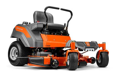 2018 Husqvarna Power Equipment Z248F Zero-Turn Mower Briggs & Stratton in Chillicothe, Missouri