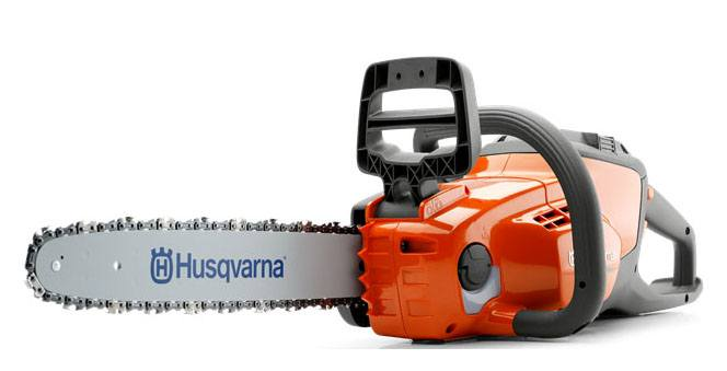 Husqvarna Power Equipment 120i 14 in. bar Chainsaw in Talladega, Alabama - Photo 5