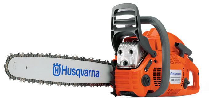 Husqvarna Power Equipment 455 Rancher 20 in. bar Chainsaw in Barre, Massachusetts