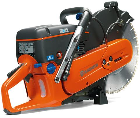 2018 Husqvarna Power Equipment K 760 Power Cutter with OilGuard in Jackson, Missouri